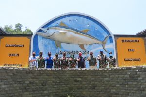 Kunjungan Komandan Pangkalan Angkatan Laut Malang di UPT PPP Pondokdadap