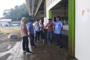 Tim Sekretariat Ditjen Perikanan Tangkap KKP Menilik Perkembangan Kios Ikan Nelayan