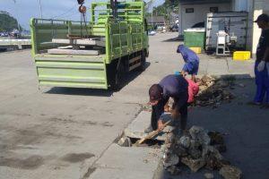 Berita K5: Pelaksanaan Pembersihan Saluran Drainase Pelabuhan Perikanan Pondokdadap