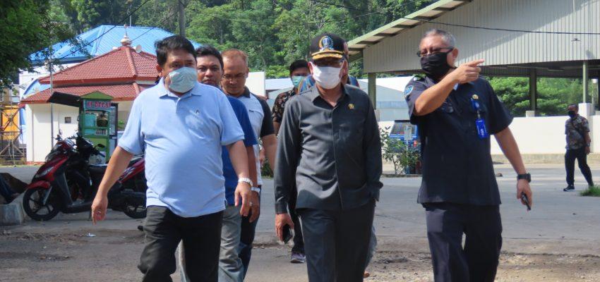 Kunjungan Perwakilan DPRD Provinsi Jawa Timur Menuju UPT PPP Pondokdadap