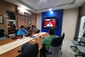 FGD Daring Otoritas Jasa Keuangan Malang dengan UPT PPP Pondokdadap Dalam Rangka Membahas Pemulihan Ekonomi Daerah Sendang Biru