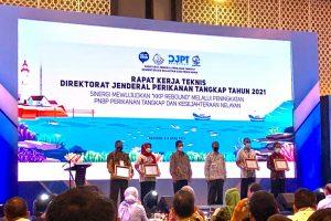 UPT PPP Pondokdadap Meraih Penghargaan sebagai Pelabuhan Perikanan UPT Daerah dengan Pengelolaan Terbaik